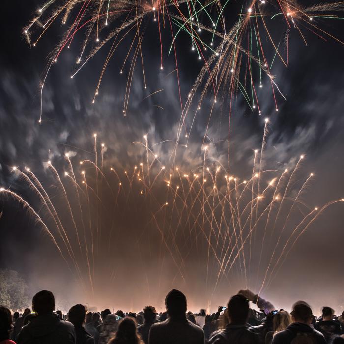 13-feux d'artifice
